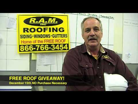 RAM Residential FREE ROOF GIVEAWAY, Roofing Contractors Shelby Township MI