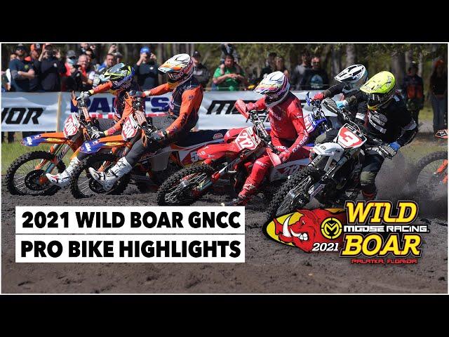 Résumé GNCC USA 2021 - RD2- Wild Board