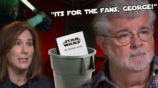 Kathy Kennedy LIED to George Lucas about Disney Star Wars