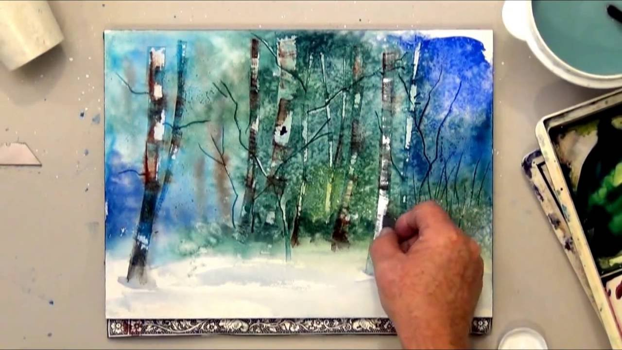 Learning Watercolour Painting