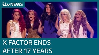 X Factor 'ends' after 17 years, former contestants react   ITV News