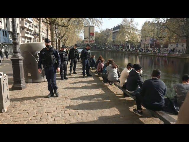 確診數居歐洲第一 法國第三波封城將延長至少四週