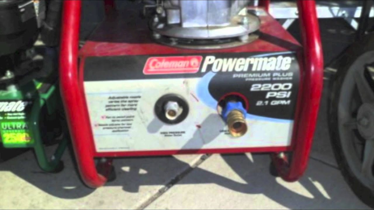 Powermate Power Washer Parts Pictures