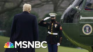 Diminished Trump Tries To Steal Limelight In Final Hours in Office   The 11th Hour   MSNBC