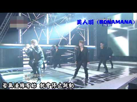 Super Junior - 美人啊 (BONAMANA) 繁中應援