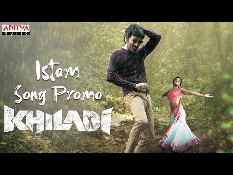 Istam song promo- Khiladi songs- Ravi Teja, Meenakshi Chaudhary