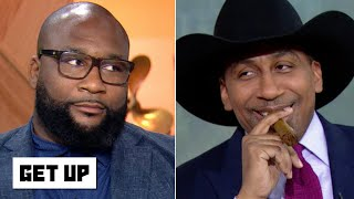 Stephen A. annoys Marcus Spears by basking in Cowboys fans' misery | Get Up