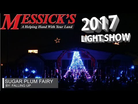 Messick's 2017 Christmas Light Show | Falling Up - Sugar Plum Fairy Picture