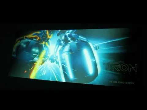 Tron Legacy Movie Ticket