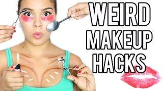 13 WEIRD MakeUp Hacks that Actually Work!