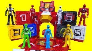 파워레인저 애니멀포스 장난감 미니큐브 애니멀킹 거대 큐브 기지 장난감 Power rangers Doubutsu Sentai Zyuohger Toys