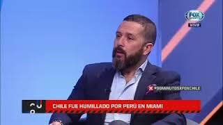 Chile mostró su peor cara ante Perú  FOX Sports