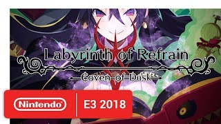Labyrinth of Refrain: Coven of Dusk Date - Announcement Trailer - Nintendo E3 2018