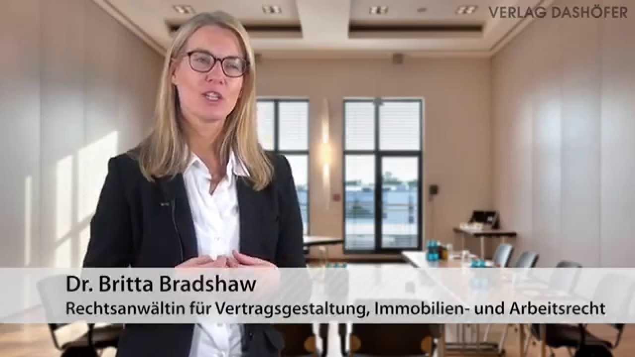 Video zum Seminar Verträge rechtssicher gestalten