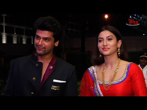 Kushal Tandon, Gauhar Khan, Vivian Dsena, Vahbbiz and others at Niketan and Kratika's Wedding