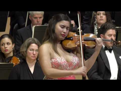 Christina Bouey  - Beethoven Violin Concerto in D Major, Op. 61 With Encore