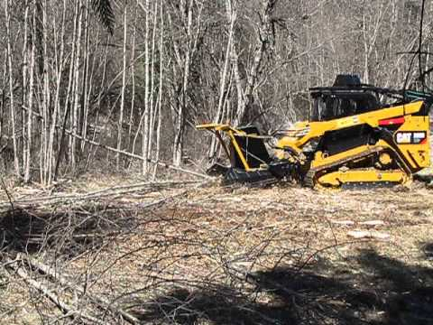 AFE SS EXTREME MULCHER on CAT 299D XHP