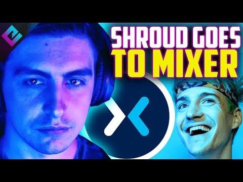 Shroud Joins Mixer with Ninja
