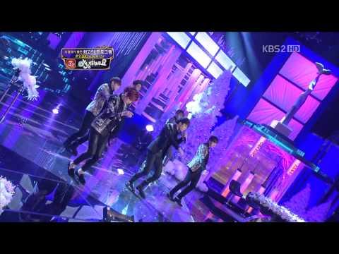 [HD] 121222 KBS Entertainment Awards B2ST/Beast - Beautiful Night