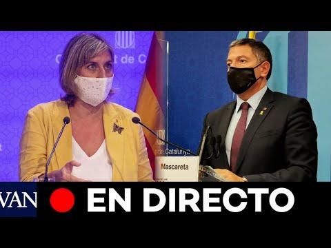 DIRECTO: El Govern informa sobre la evolución del coronavirus en Catalunya