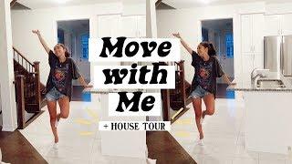MOVING VLOG   EMPTY HOUSE TOUR + HOME DECOR SHOPPING