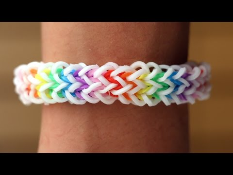 Rainbow Loom Nederlands - Quadzilla || Loom bands, rainbow loom, tutorial, how to