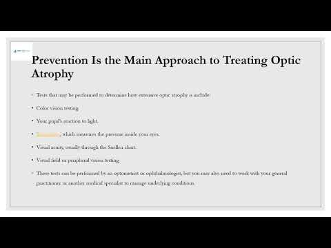 Stem Cell Therapy for Optic Nerve Atrophy