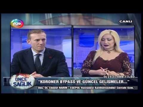 Koroner Bypass Cerrahisi Ve Güncel Gelişmeler- 14.02.2017 Ege TV