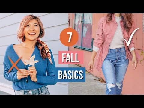 Video: 7 FALL BASICS Every Girl Needs! Petite Styling Tips!