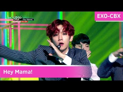 EXO-CBX - Hey Mama! [Music Bank COMEBACK / 2016.11.04]