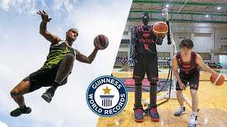 Best BASKETBALL Trick Shots Ever! - Guinness World Records