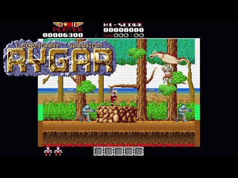 Rygar (2018) | Preview | AudioComentado | Amiga | Homebrew World