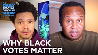 Why Are Black Men More Likely to Support Trump Than Black Women? | The Daily Social Distancing Show