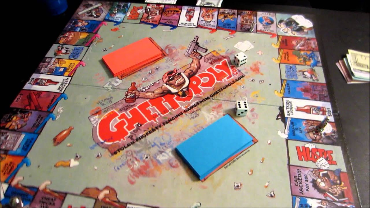 In Out Board >> Gamenight ghettopoly 1.5 - YouTube