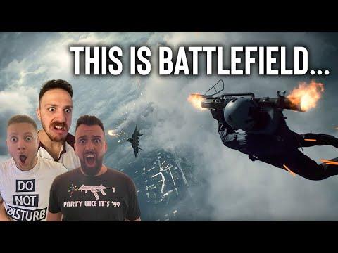 Battlefield 2042 Official Reveal Trailer REACTION!