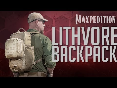 MAXPEDITION Advanced Gear Research LITHVORE Everyday Backpack