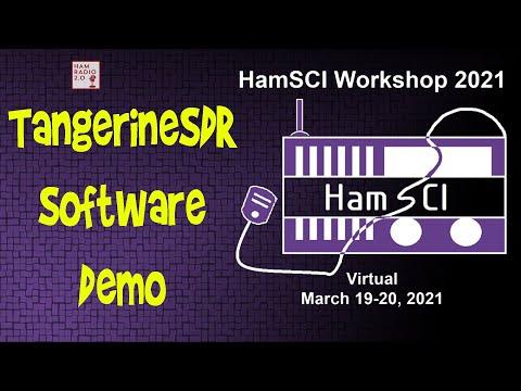 HamSci 2021: TangerineSDR Software Demo