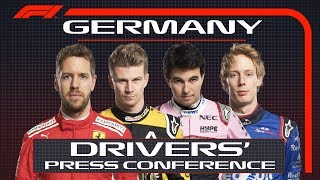 2018 German Grand Prix: Press Conference Highlights
