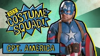 Make Captain America's Suit & Shield - DIY Costume Squad