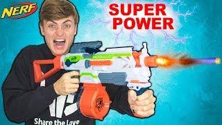SUPER POWER NERF MOD!!