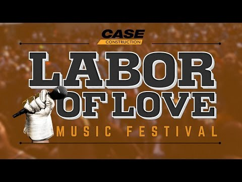 CASE Construction Equipment announces Labor of Love 2016, with headliner Chris Young. Proceeds will benefit Team Rubicon.