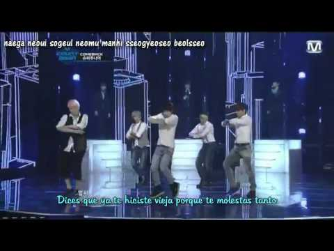 Super Junior - From U (live) Sub español + Lyrics