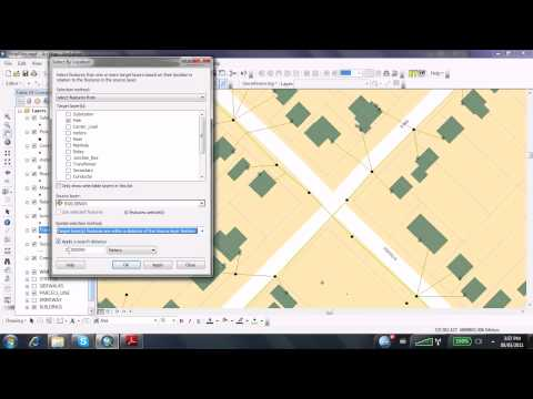 How To Selection By Location in ArcGIS