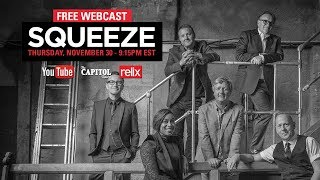 Squeeze | 11/30/17 | Live From The Captiol Theatre | Full Show