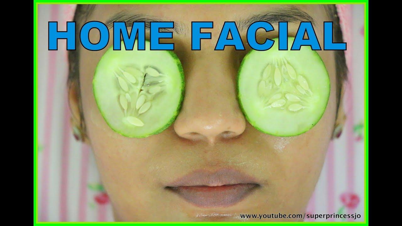 At Home Facial Steps 121