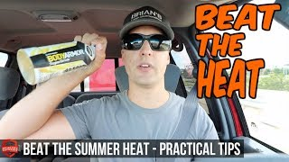 How To Beat The Heat -  Lawn Care Tips And Advice - Staying Cool Through Summer