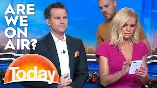 Hosts Don't Realise They're On-Air | TODAY Show Australia