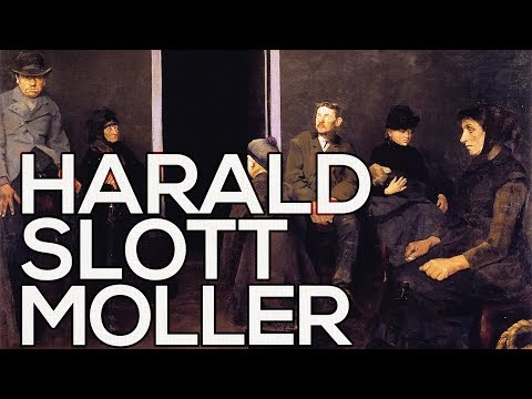 Harald Slott Moller: A collection of 43 paintings (HD)