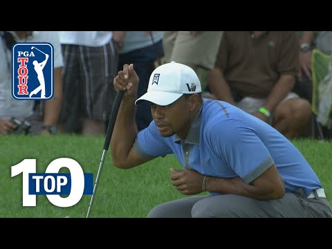 Tiger Woods' all-time shots at Firestone