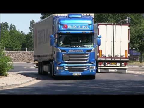 Scania V8 Trucks Today  2 Some Volvo Lorrys